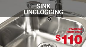 Sink unclogging